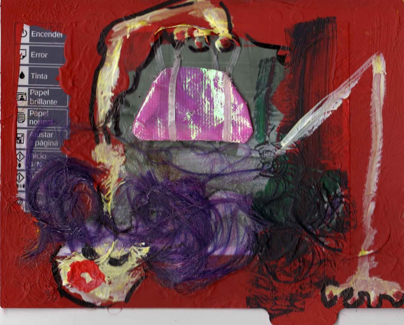 Perdu quelque chose © David Noir | Dessins, peintures, collages