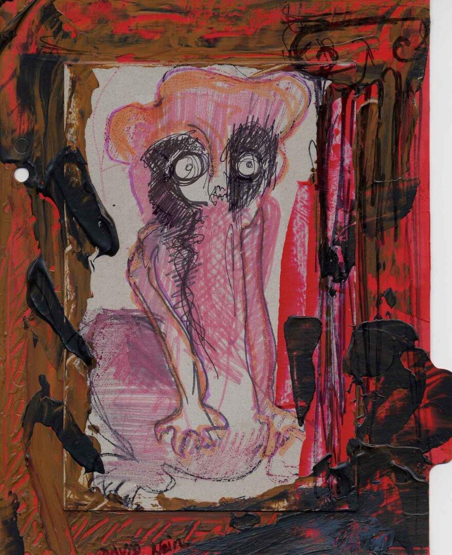 Pince-moi © David Noir | Dessins, peintures, collages