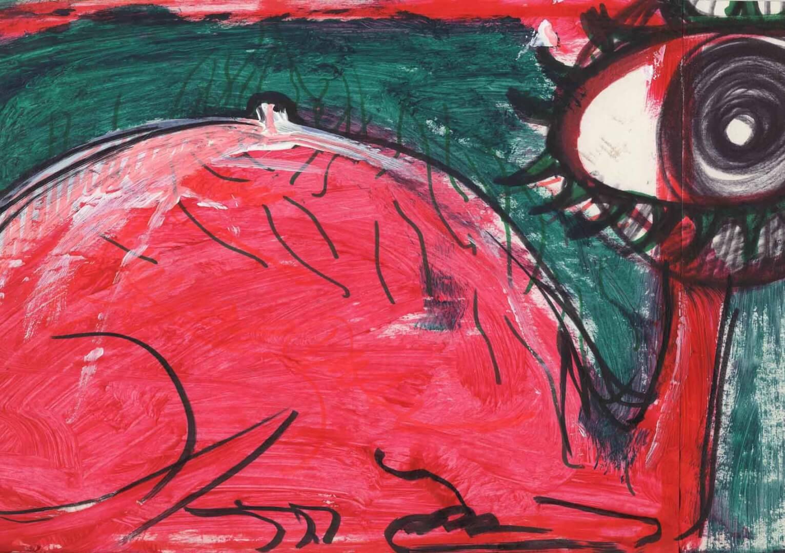 Recto verso 2 © David Noir | Dessins, peintures, collages