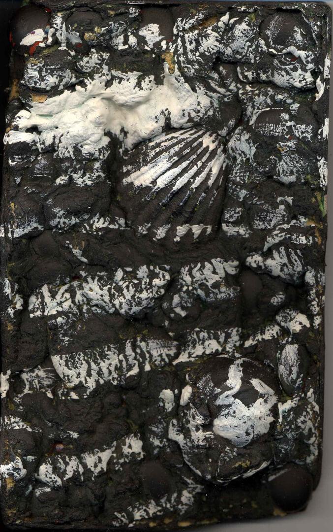 Relief © David Noir | Dessins, peintures, collages