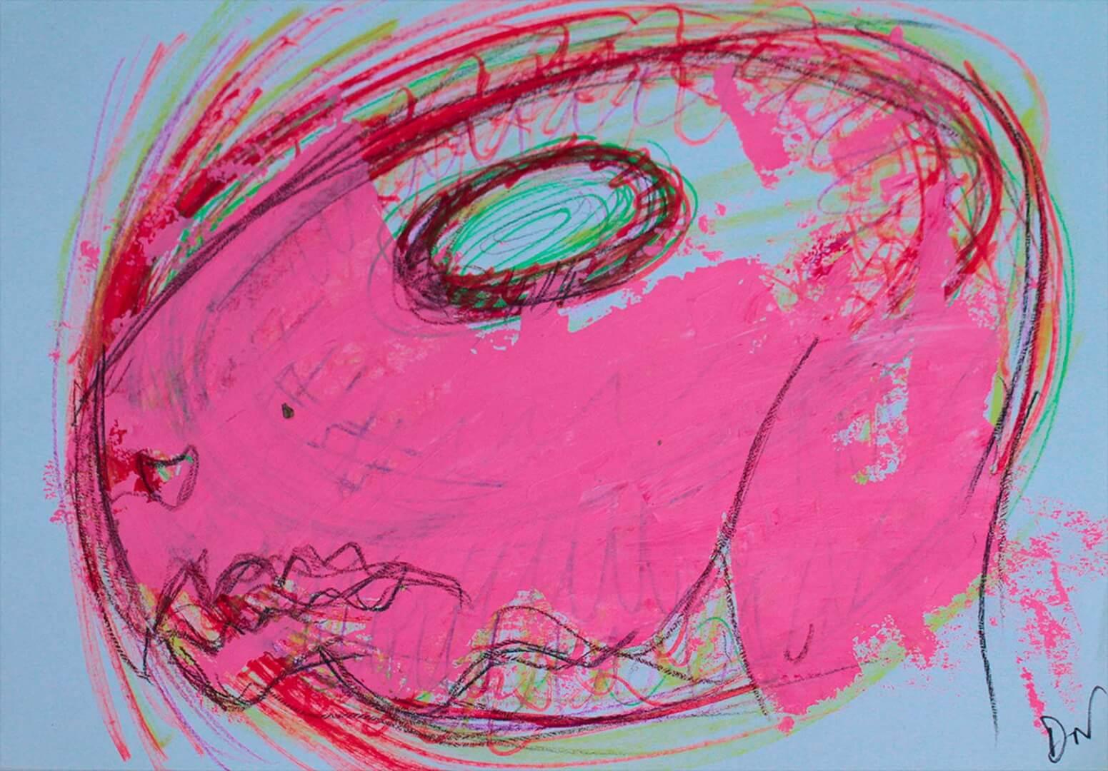 Rongeur maléfique © David Noir | Dessins, peintures, collages