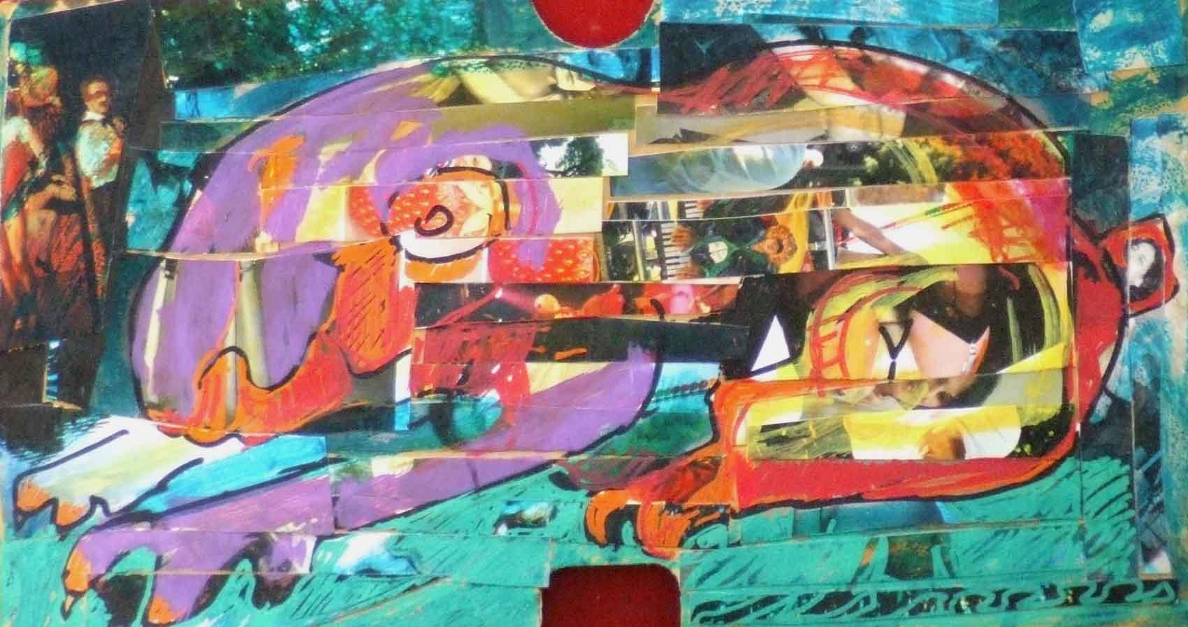 Taupe © David Noir | Dessins, peintures, collages