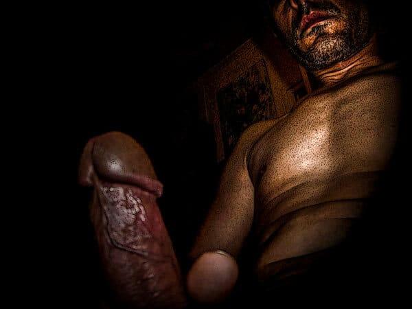 Mon art sexuel | Sexe droit | 1 |Autoportrait © David Noir
