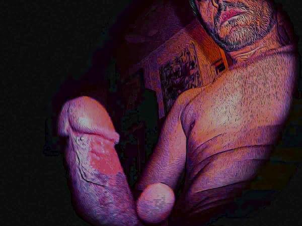 Mon art sexuel | Sexe droit | 2 |Autoportrait © David Noir