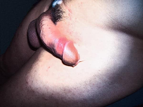 Mon art sexuel | Après une éjaculation | 2 |Autoportrait © David Noir