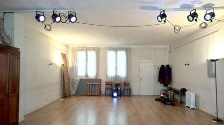 Localisation salle ateliers Scène Vivante