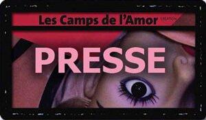 La presse des camps de l'Amor de David Noir
